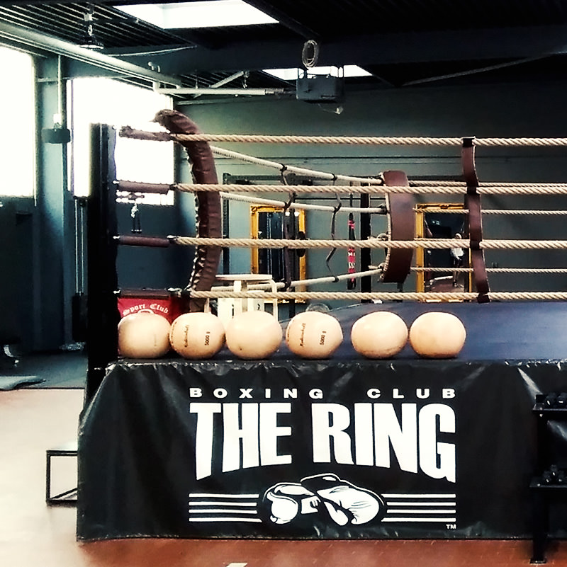 The Ring Boxclub Studio Wettkampfboxring