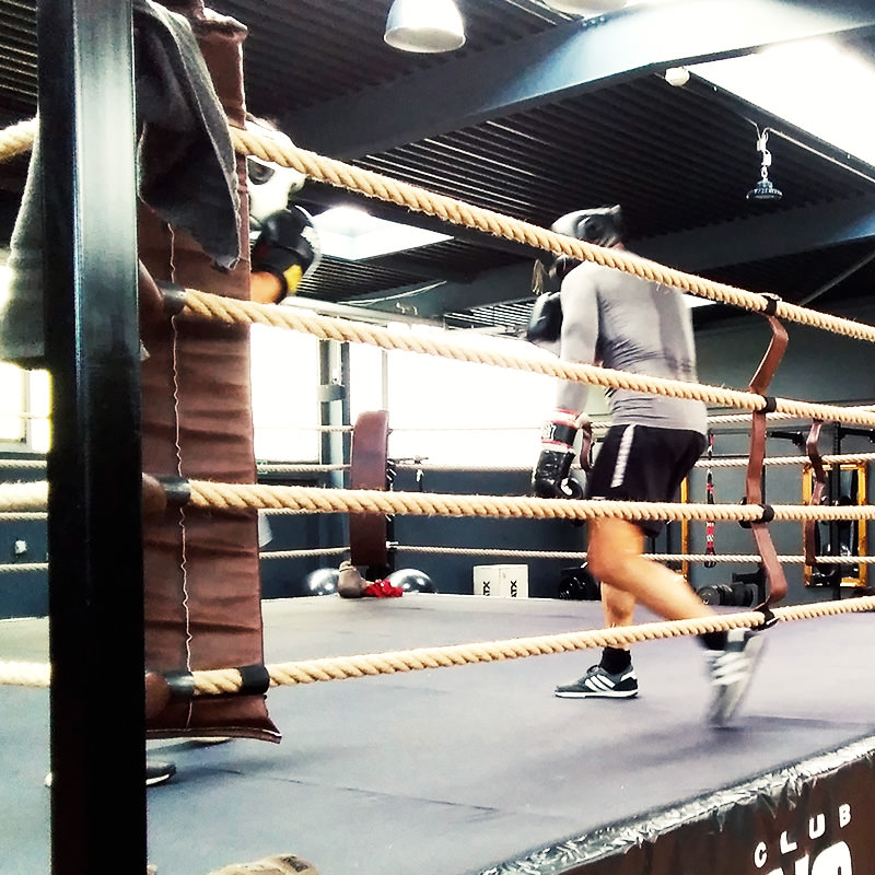 The Ring Boxclub Training auf Augenhöhe